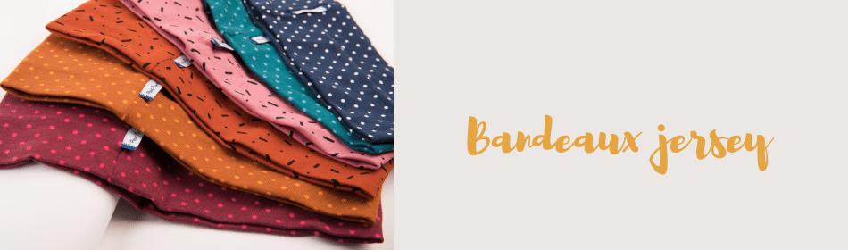 Les bandeaux en jersey colorés Papa Pique et Maman Coud aussi bien adapté aux adultes qu'aux adolescents sont un superbe accessoire mode pour les cheveux et réaliser un look sympa pour l'été