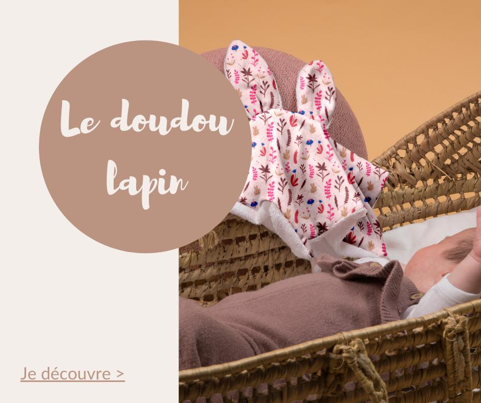 Le doudou lapin Papa Pique et Maman Coud est un cadeau parfait pour apporter de la tendresse aux futurs parents et à bébé pour le réconforter pendant ses nuits agîtées
