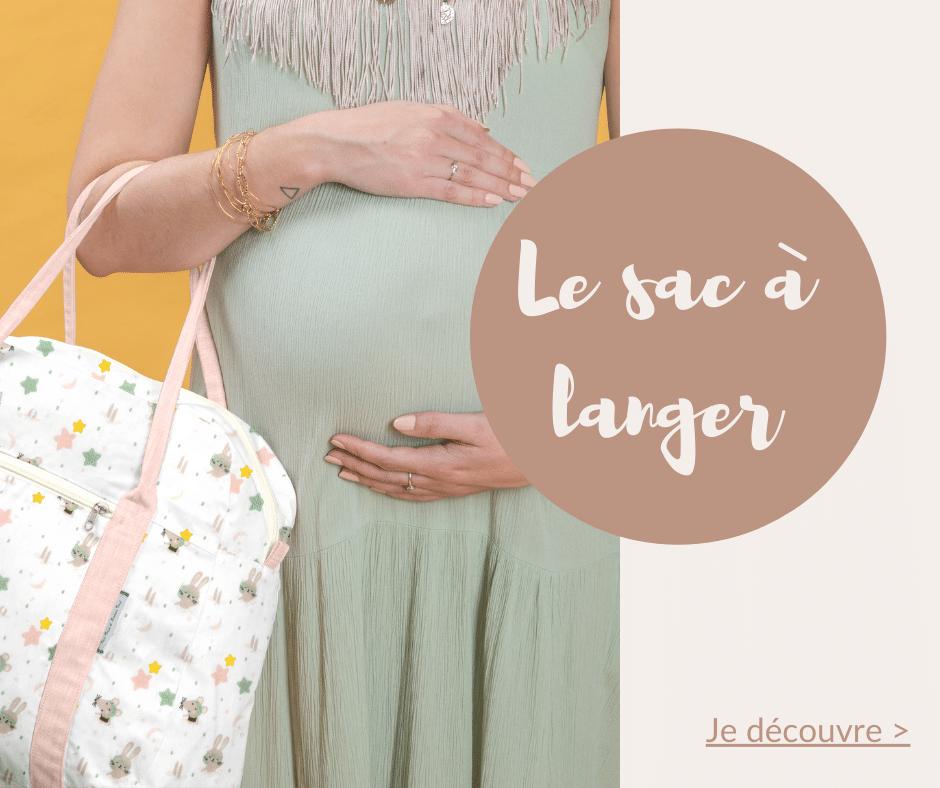 Le sac à langer PPMC est l'idéal pour un cadeau de naissance, à la fois pratique et original il contentera parfaitement les futurs parents