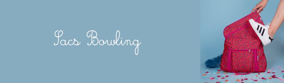 Retrouvez le sac bowling pour aller au travail, au sport ou aussi très pratique comme sac à langer pour bébé - Papa Pique et Maman Coud