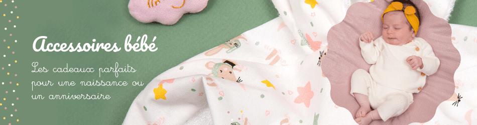 Accessoires bébé en tissu et cadeaux de naissance - Papa Pique et Maman Coud