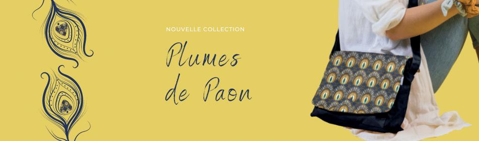 La nouvelle collection Papa Pique et Maman Coud - Plumes de Paon