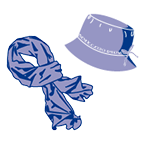 Echarpes et Chapeaux à petit prix