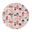 Petites filles Pop - Collection Papa Pique et Maman Coud