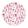 Herbier rose - Collection Papa Pique et Maman Coud