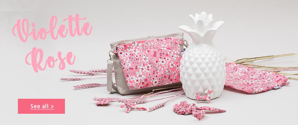 New collection pink violette- Papa Pique et Maman Coud