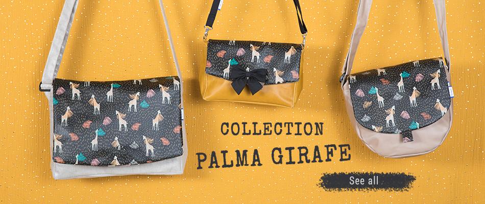 Nouvelle Collection Palma girafe- Papa Pique et Maman Coud