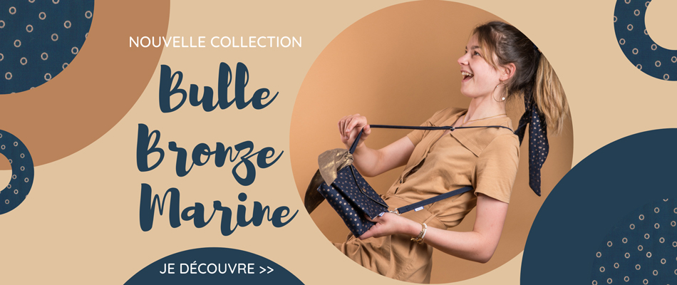 Nouvelle collection Bulle bronze- Papa Pique et Maman Coud