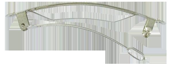 Monture croco 2,5 cm